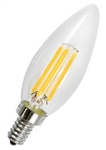 LED 4 Watt (replaces 40W)  Vintage Filament B10