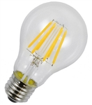 LED 6 Watt Clear Filament A19 replaces 60 watt incandescent