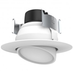 9 watt LED Directional Retrofit Downlight - Gimbaled; 4""