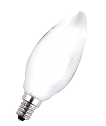 Halco LED 2 Watt (replaces 25W)  Frosted Antique B11