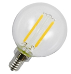 LED 2 Watt Filament G16.5 Globe