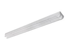 Maxlite LED 2 lamp 4' Strip Fixture with LED bulbs
