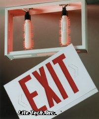 Red Led Exit Sign Retro Kit 5 95 Per Bulb 11 90 Per